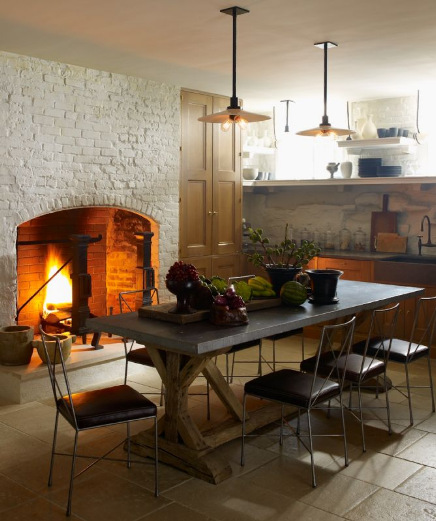 Designer Steven Gambrel S 8 Favorite Kitchen Designs: Color Outside The Lines: A Little Modern/Traditional Mix