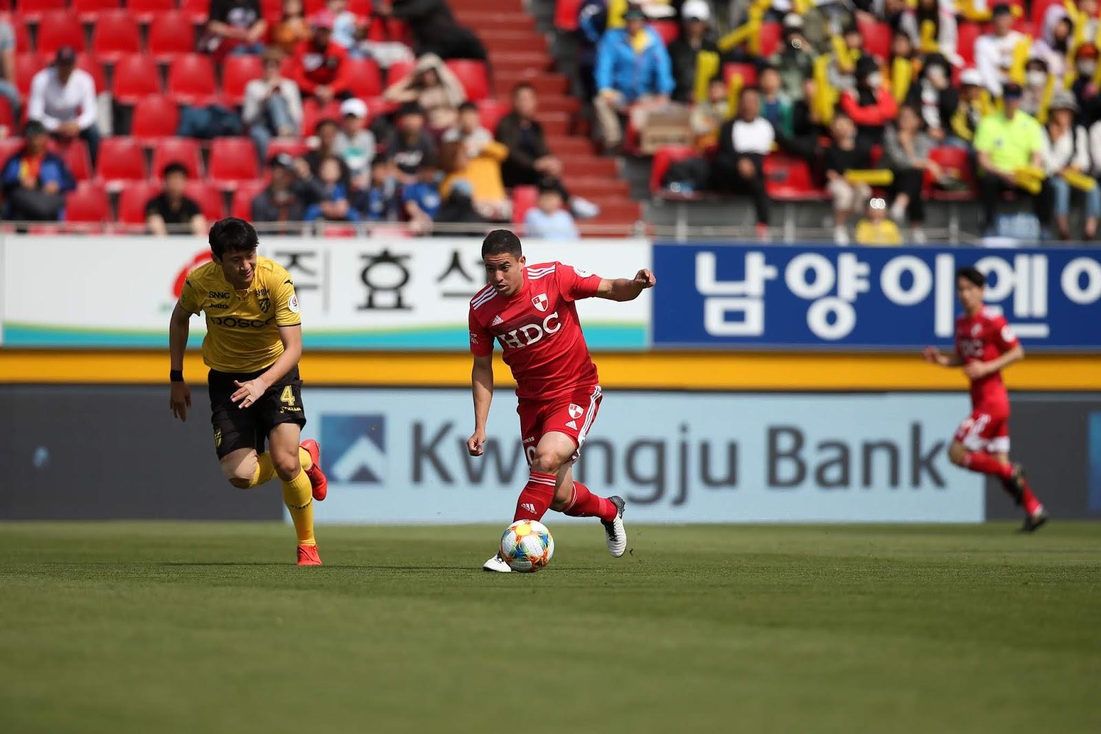Busan IPark, Jeonnam Dragons, Romulo