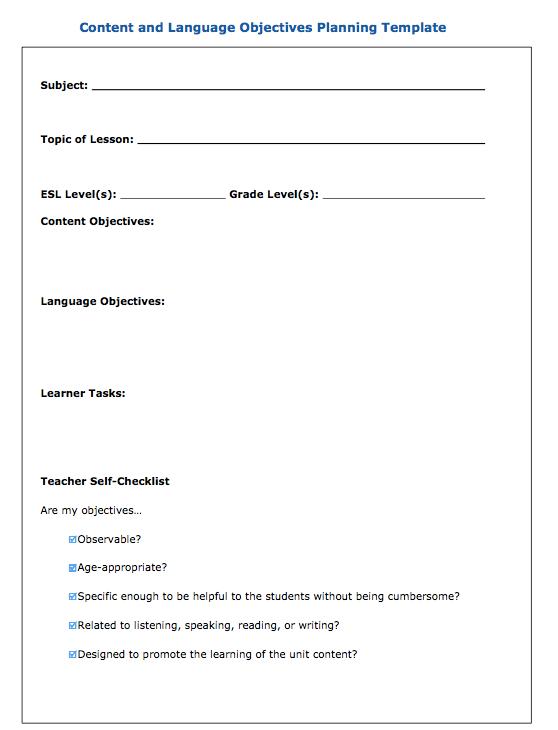 i teach dual language careful lesson planning language