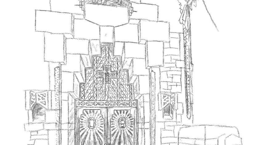 weasels go narf: Daily Draw: National Shrine of the Little
