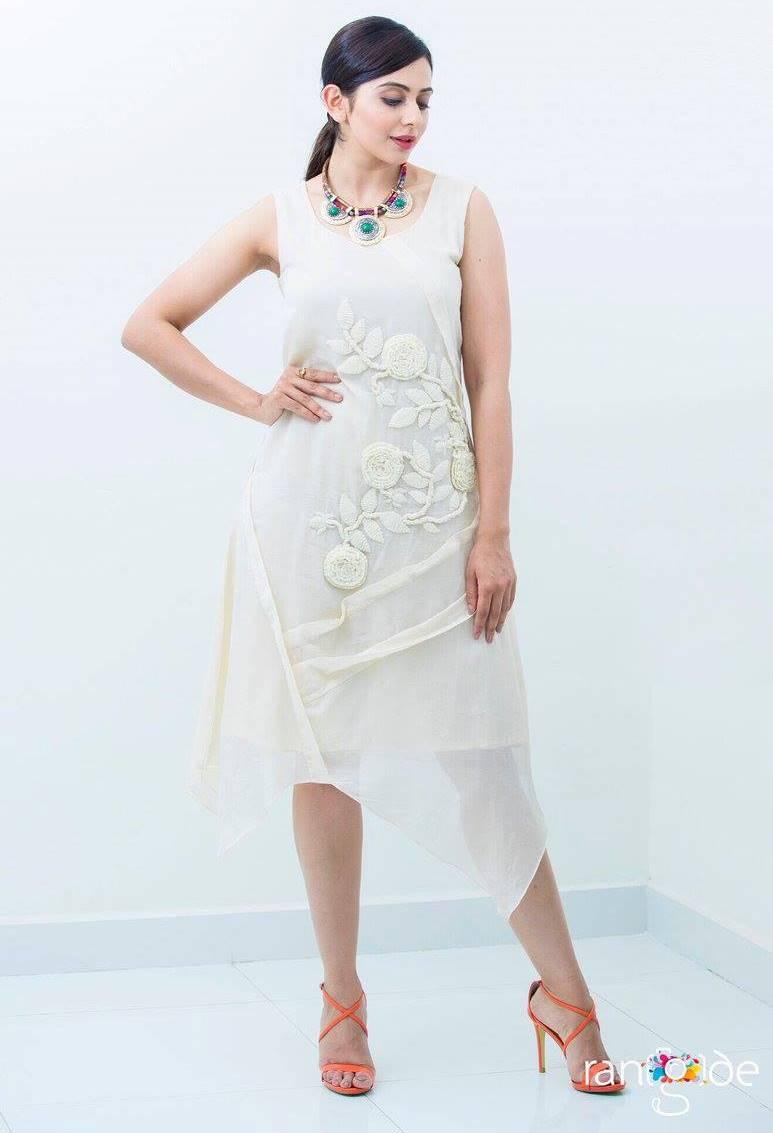 Rakul Preet Singh Photo Shoot In White Dress  ❤ ❤  ❤