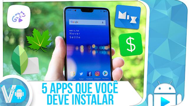 5! APLICATIVOS EXTREMOS que você DEVE INSTALAR AGORA MESMO no seu Android