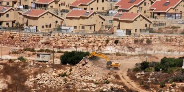بناء 850 وحدة استيطانية فى فلسطين