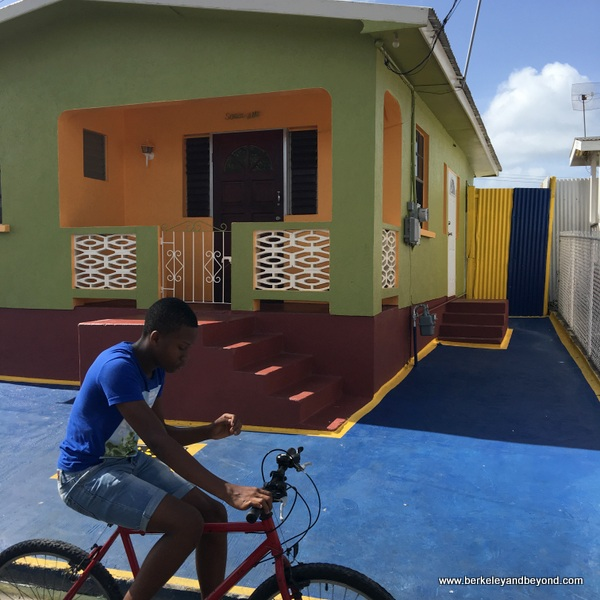 Rihanna's childhood home in Bridgetown, Barbados