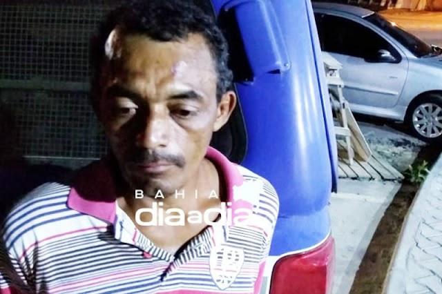 Polícia Militar prende suspeito de matar mulher a facada em Itabela