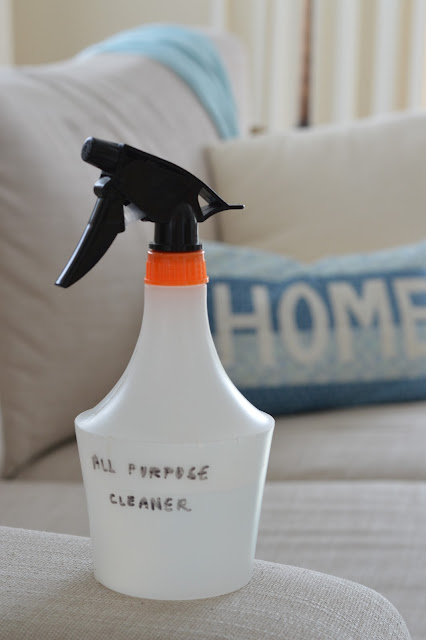 DIY natural multi-purpose home cleaner