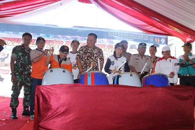 32 Peserta Meriahkan Fesival Perahu Naga