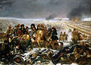 Napoléon sur le champ de bataille d'Eylau par Antoine Jean Gros (musée du Louvre)