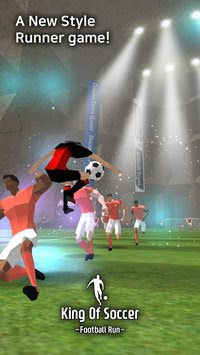 Download King of Soccer Football Run MOD APK v1.0.8.2 for Android Full Hack Unlimited All Terbaru 2017