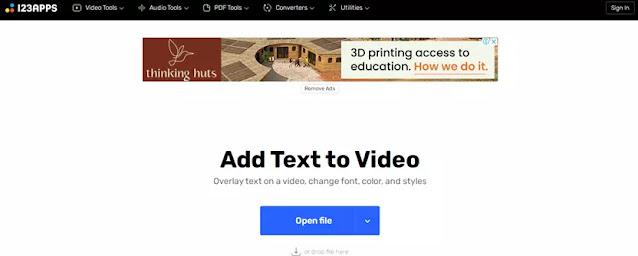 Cara Menambahkan Teks ke Video Secara Online-3