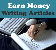 Become article writer and earn money working from home