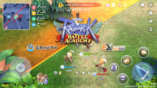 Ragnarok Battle Academy (ROBA), the battle royale mobile