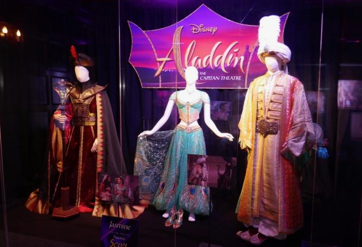 Aladdin film costumes