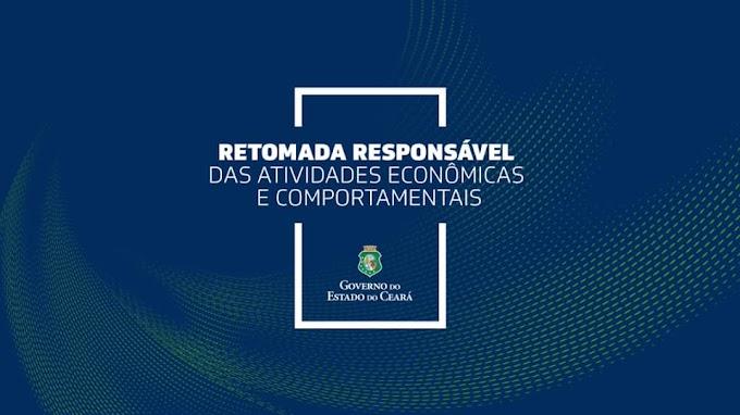 Governador Camilo oficializa e detalha plano de retomada gradual que inicia nesta segunda-feira, 1º de Junho