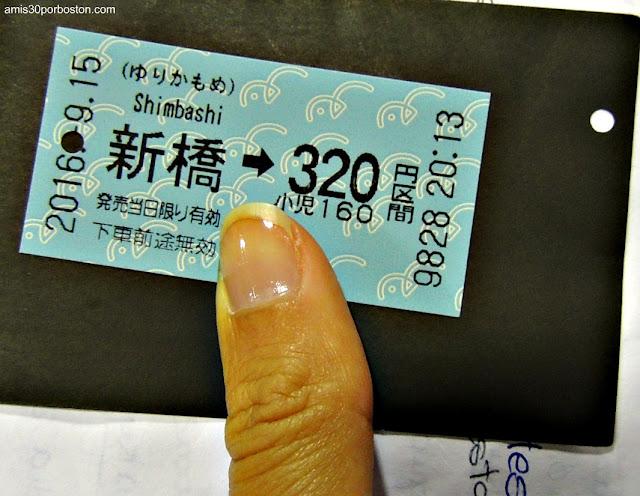 Ticket del Tren
