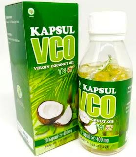 Jual VCO Kapsul Herbal Minyak Kelapa (Virgin Coconut Oil) 70 Kapsul Toga Nusantara-alami Herbal Surabaya