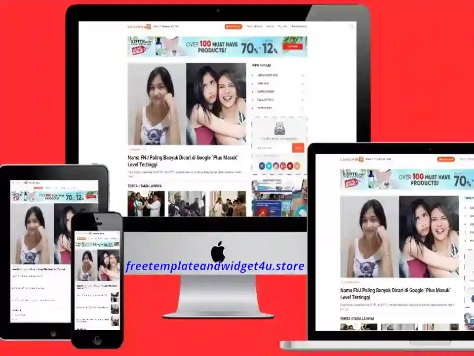 Liputan 9 news Blogger Template Free Download