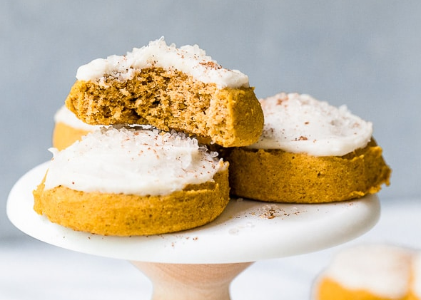 Gluten-Free Pumpkin Cookies #desserts #cakes #cookies #pumpkin #glutenfree