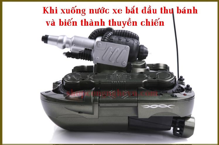 Xe tăng chiến khi xuống nước