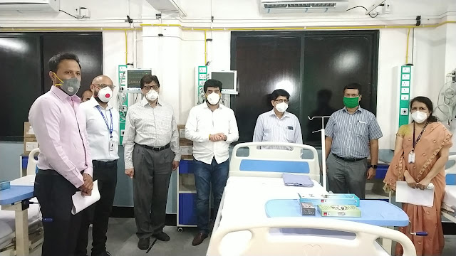 CREDAI Pune Metro sets up an advanced ICU at PMC's Dalvi Hospital