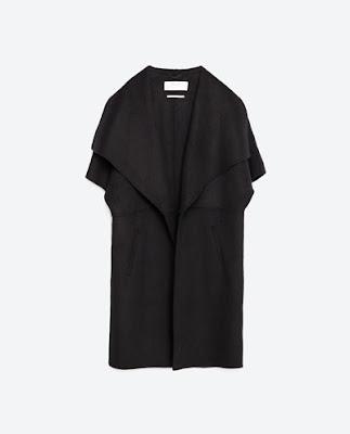 Zara hand made wool waistcoat