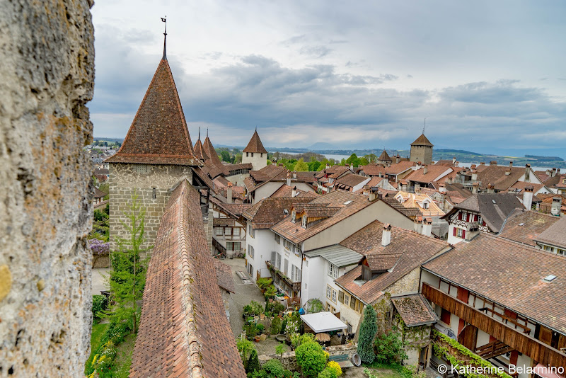 City Wall Murten Switzerland