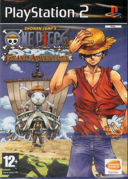 One Piece Grand Adventure (PS 2) - JemberTheIsoZone