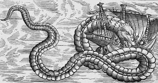Dragón marino mitología