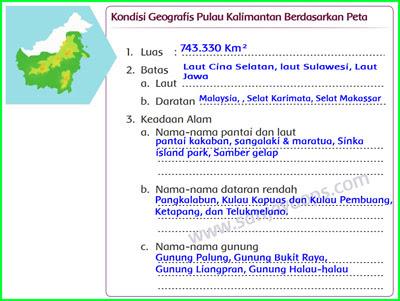Kondisi-Geografis-Pulau-kalimantan-Berdasarkan-Peta