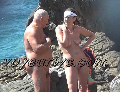 BeachHunters 22273-22364 (Beach spy cam is working and spying so many nude bodies of people)