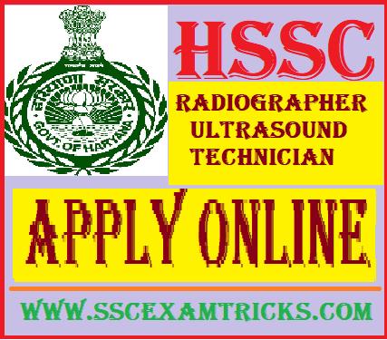 HSSC Radiographer/Ultrasound Technician
