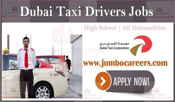 Dubai Taxi Drivers Jobs March 2019 Dubai Taxi Corporation
