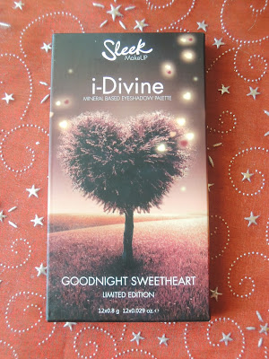 Paleta Sleek Goodnight Sweetheart - recenzja + swatche