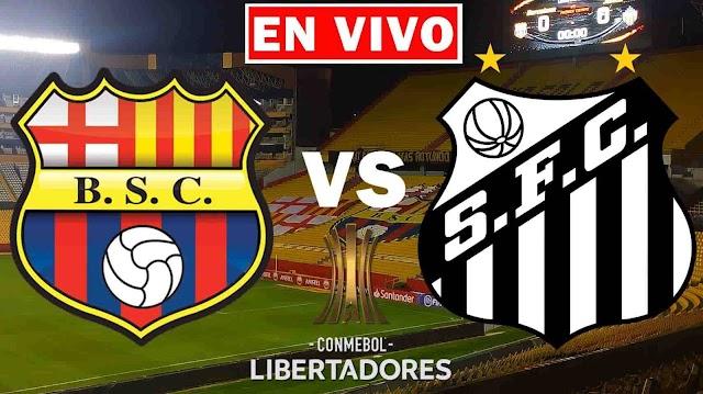EN VIVO   Barcelona vs. Santos de Brasil, jornada 6 del Grupo C de la Copa Libertadores 2021 ¿Dónde ver el partido online gratis en internet?