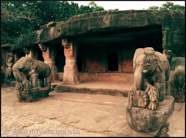 Udayagiri Caves - ancient retreats of the Jain ascetics