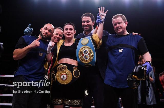 Katie Taylor WBO, WBA, IBF Women's Champion