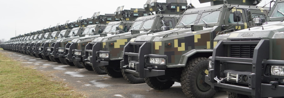 ЗСУ отримали кілька десятків бронеавтомобілів Козак-2