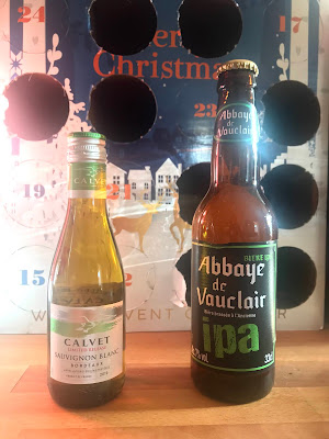 French village lockdown diaries day 44 France Trivia advent calendar day 12  beer wine