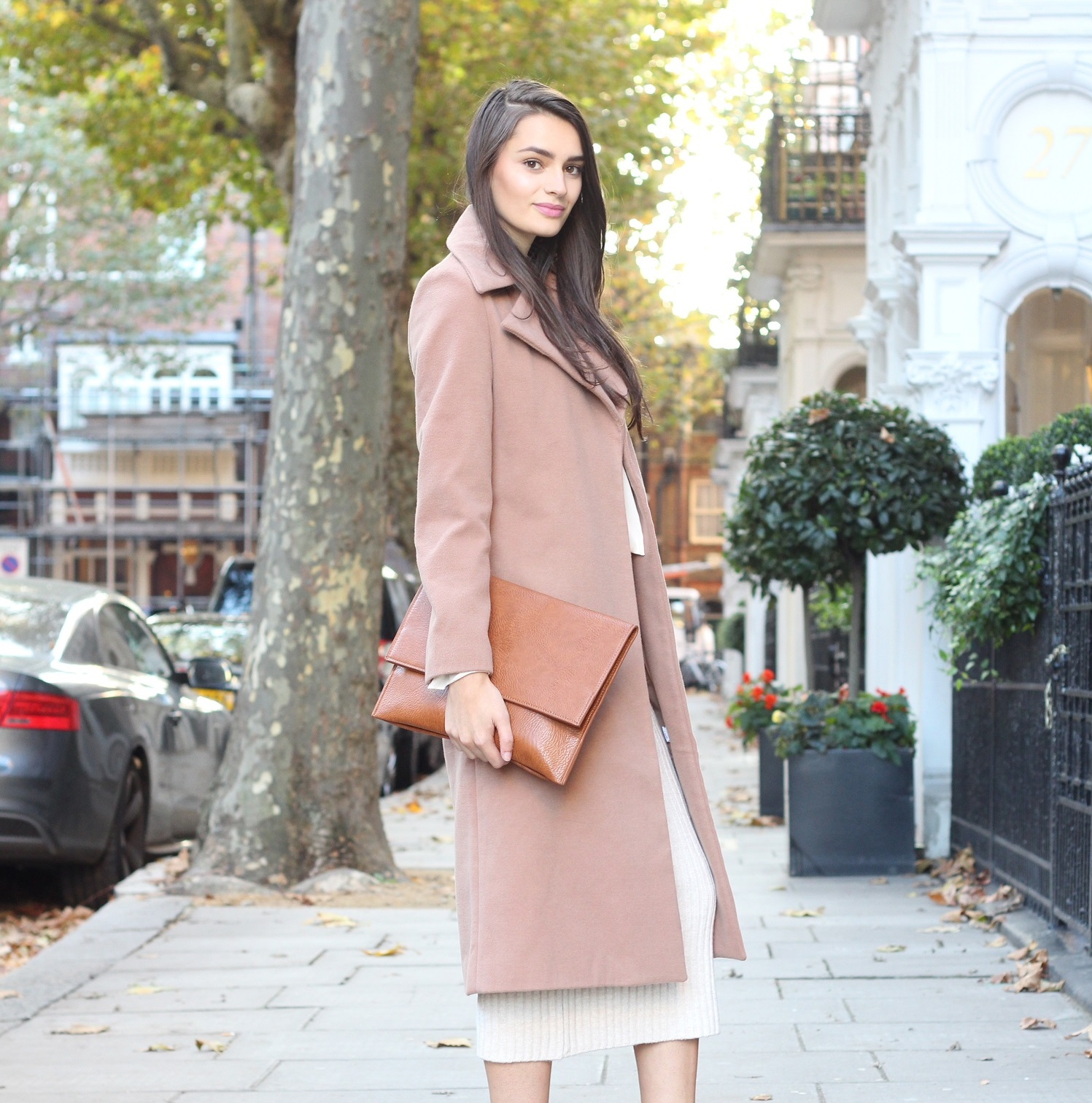 peexo fashion blogger layering autumn neutrals