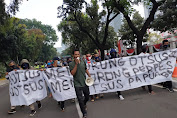 Longmarch Kemenpolhukam-Istana Negara, AMPB Minta Tangkap Mafia Outsus