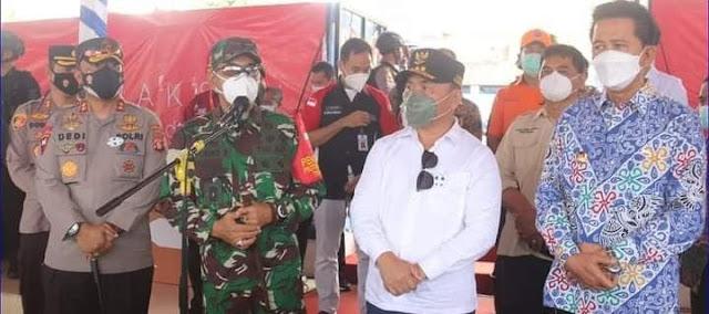 Gubernur Kalteng Tinjau Pelaksanaan Vaksinasi Covid-19 Di Kabupaten Barito Utara