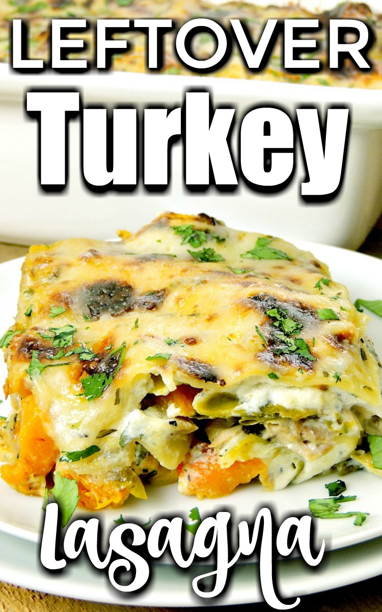 Leftover Turkey Lasagna - No more boring turkey sandwiches, transform that holiday meal into this delicious Leftover Turkey Lasagna recipe and watch your family go crazy for it! #turkey #lasagna #leftovers #thanksgiving #christmas #recipe | bobbiskozykitchen.com