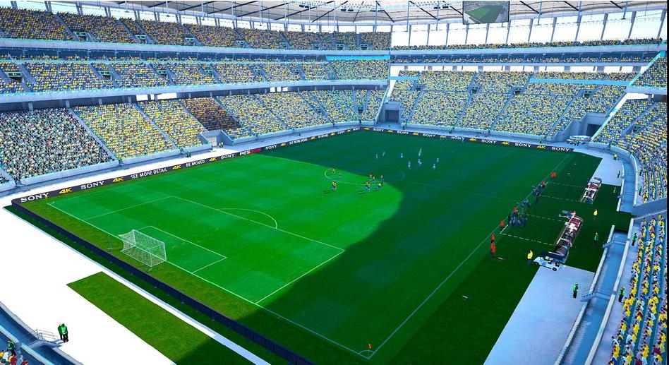 Pes modif pes 2016 estadio arena fonte nova brasil by for Estadio arena