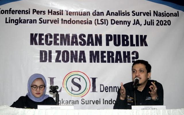 LSI Denny JA: Ekonomi Rakyat Berada di Zona Merah
