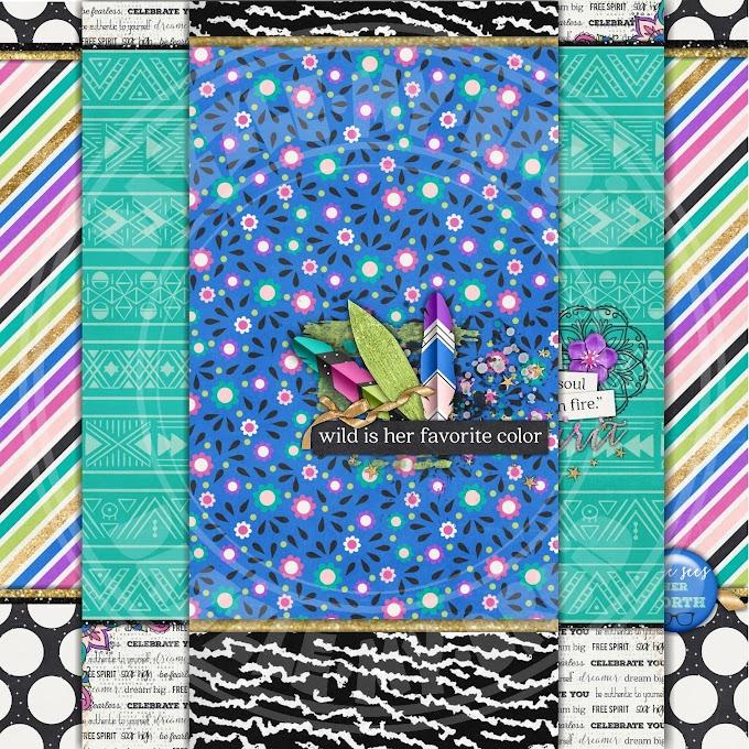 """Freebie Wallpaper collection """"Wild Spirit"""""""