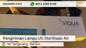 Pengiriman Lampu UV Sterilisasi Air ke Tangerang 2020