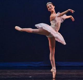 glisse ballerina; Melissa Greene