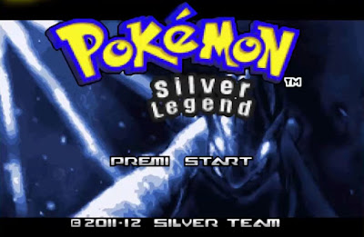 Pokemon Silver Legend para GBA Imagen Portada