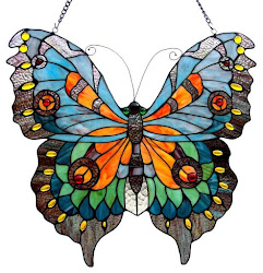 Tiffany Glass Butterfly