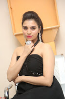 Priyanka in Sleeveless Black Slim Dress Spicy Pics ~  Exclusive 02.JPG